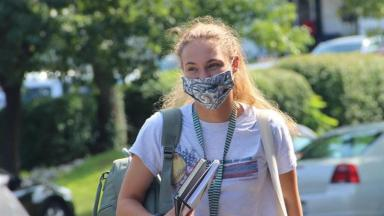 Student in Mask